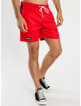 Mully Shorts In Red by Glue Store