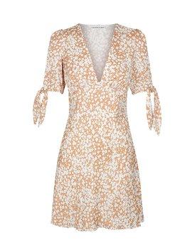 Heather Tie Sleeve Bias Mini Dress by Shona Joy