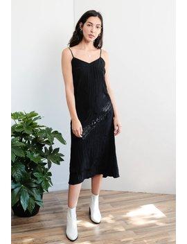 Crinkled Slip Dress by Azalea