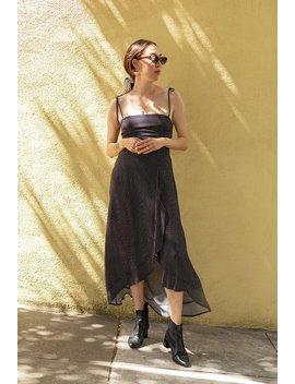 Leah Polka Dot Dress by Azalea
