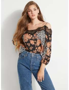 Tancia Cold Shoulder Top by Guess
