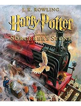 Harry Potter And The Sorcerer's Stone: The Illustrated Edition (Harry Potter, Book 1) by Better World Books