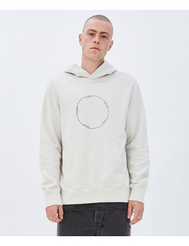 Life Question Hoodie Chalk White by Ksubi
