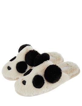 Panda Mule Slippers by Accessorize