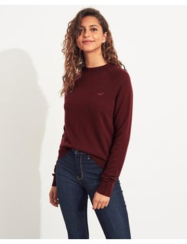 Cashmere Crewneck Sweater by Hollister