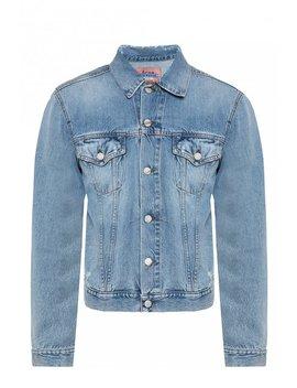 Distressed Denim Jacket by Acne