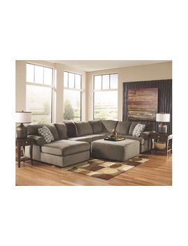 Jessa Place 3 Piece Sectional With Ottoman by Ashley Homestore