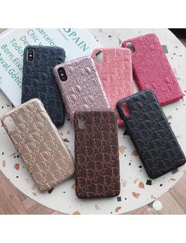 Top Quality Fanshion Brand Phone Case Cover For Iphone X Xr Xs Max 7 8 Plus 6 6s Plus Print Designer Case 01 by D Hgate.Com