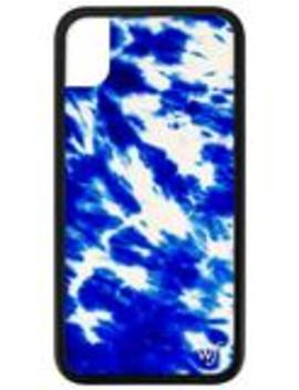 Blue Tie Dye I Phone Xr Case by Wildflower Cases