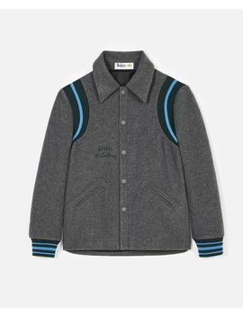 Gray Jacket All Together Now by Stella Mccartney
