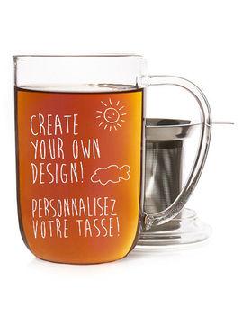 Glass Customizable Nordic Mug by Davi Ds Tea
