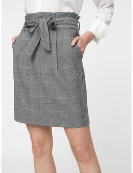 High Waist Paper Bag Skirt by Vero Moda