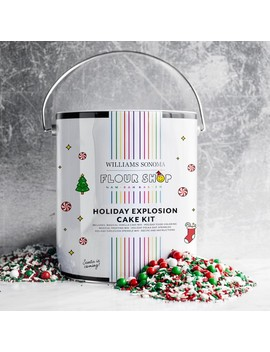 Flour Shop Holiday Explosion Cake Kit by Williams   Sonoma
