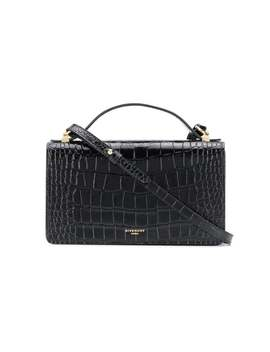 Givenchy          Gv3 Croc Effect Leather Crossbody by Givenchy