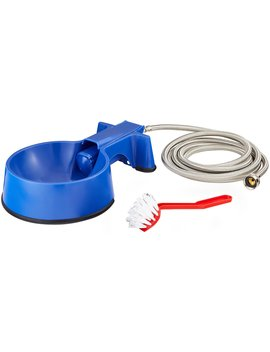 The Easy Clean Water Bowl Dog, Cat & Livestock Auto Fill Water Bowl With Hose by The Easy Clean Water Bowl