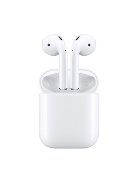 Apple Air Pods 2nd Generation With Charging Case by Qvc