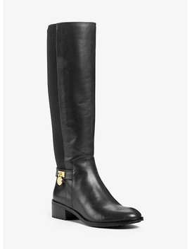 Hamilton Stretch Leather Boot by Michael Michael Kors