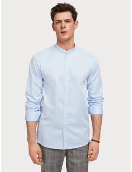 Baumwoll Shirt Mit Stretch <Br> Regular Fit by Scotch&Soda