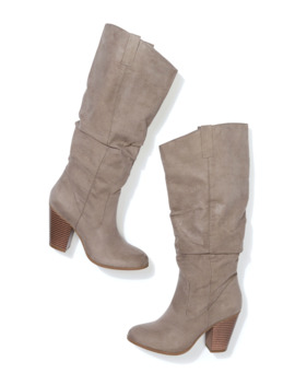 Darla Tall Scrunch Heel Boot by Maurices