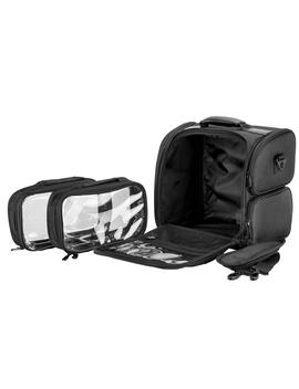 Just Case Hiker Black Soft Professional Travel Makeup Case Hk3603 Nlab by Just Case