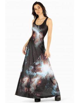 Galaxy Black Maxi Dress Bm Fit   Limited by Black Milk