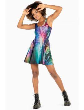 Hidden Forest Evil Skater Dress Bm Fit   Limited by Black Milk