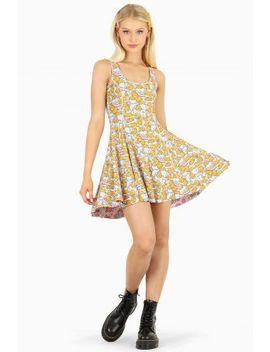 My Melody Strawberry Fields Vs Gudetama Inside Out Dress Bm Fit   Limited by Black Milk
