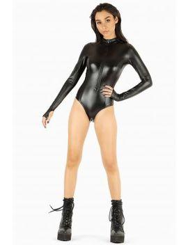 Ms Bond Long Sleeve Zip Bodysuit Bm Fit   Limited by Black Milk