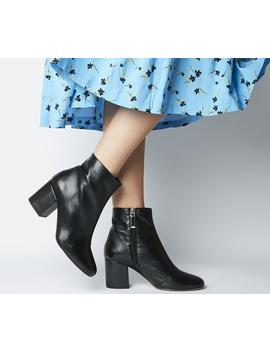 Amoretti  Black Heel Boot by Office