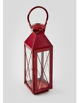 Metal Lantern (51cm X 14cm X 13cm) by Matalan