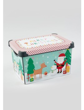 Christmas Eve Box (39cm X 29cm X 23.5cm) by Matalan