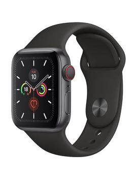 Apple Watch Series 5 40mm Space Grey Aluminium Case Gps + Cellular by Apple