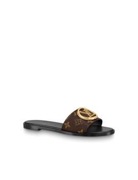 Lock It Pantolette by Louis Vuitton