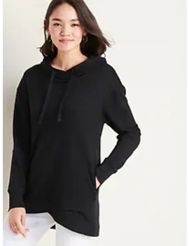 French Terry Pullover Tunic Hoodie For Women by Old Navy