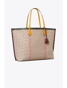 Perry Jacquard Oversized Tote by Tory Burch