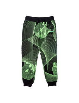 Future Trip Glow In The Dark Sweat Pants (Black) by Ripndip