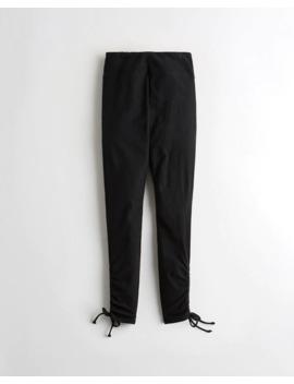 Ultra High Rise Cinch Hem Jersey Leggings by Hollister