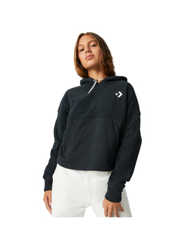 Womens Blocked Polar Pullover Sweatshirt by Converse