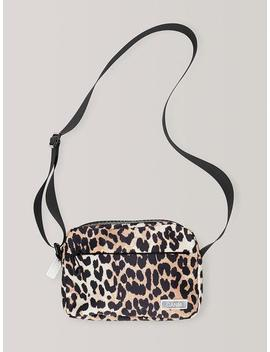 Tech Fabric Bag Leopard Tech Fabric Bag Leopard by Ganni
