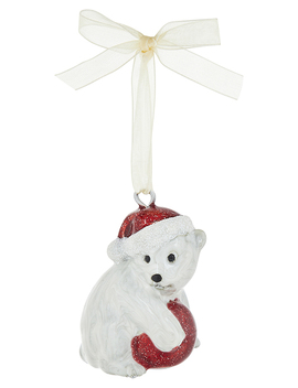 Polar Bear Hanging Decoration by Monsoon