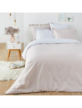 Scenario Reversible Two Tone Duvet Cover by La Redoute Interieurs