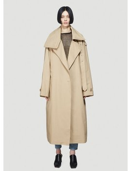 Incognito Trench Coat In Beige by Vetements
