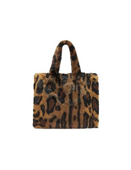 Lolita Teddy Bag In Animal Print by Trilogy
