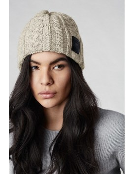 Chunky Wool Beanie by Canada Goose