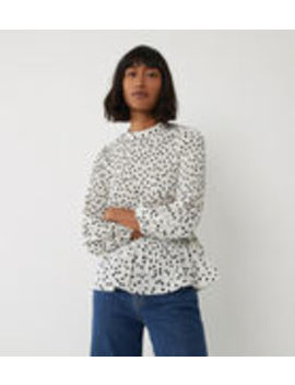 Spot Micropleat Top by Warehouse