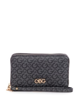 Cheyenne Double Zip Around Wallet by G By Guess