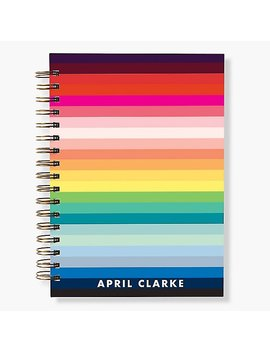 17 Month Rainbow Colorscope Custom Planner by Paper Source