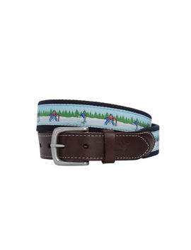 Pond Hockey Canvas Club Belt by Vineyard Vines