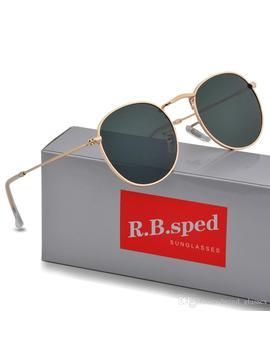12 Color High Quality Brand Designer Round Sunglasses Men Women Uv400 Protection Sport Vintage Sun Glasses Goggle With Bworn Box by D Hgate.Com
