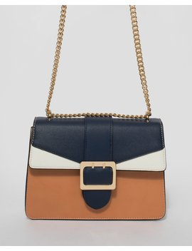 Multi Rachel Buckle Crossbody Bag by Colette Hayman